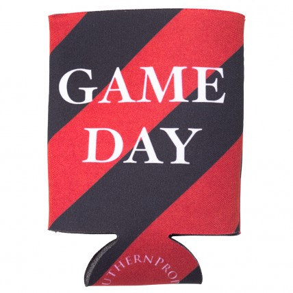 Red & Black Gameday Coozie